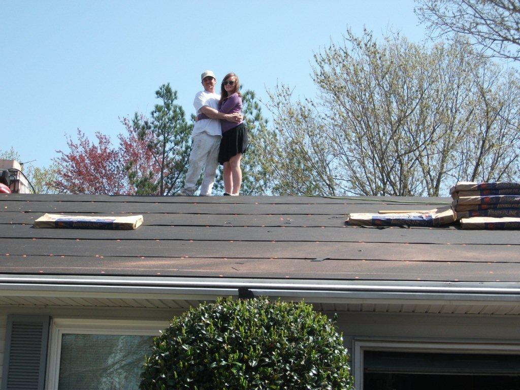 Virginia Beach roofing project moves along smoothly