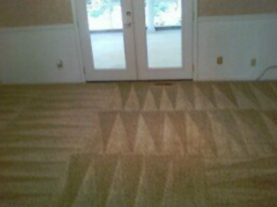 It's just amazing what a professional job Sheila's team does cleaning carpets!