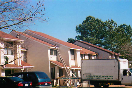 Need gutters? Sheila's handman and remodeling team can do that too.