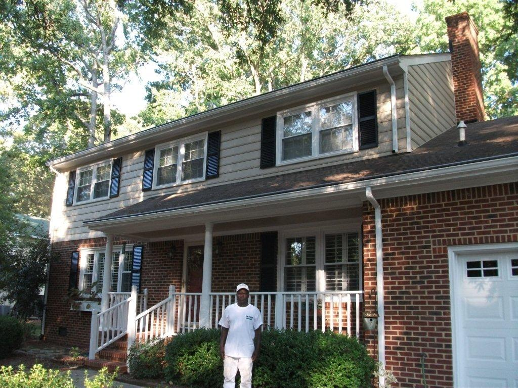 Residential house painting in virginia beach and the surrounding areas sheila 39 s painting and for Exterior house paint before and after