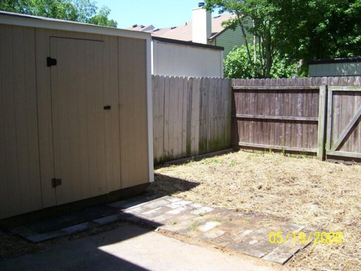 Handyman project - rebuild shed and clean up yard