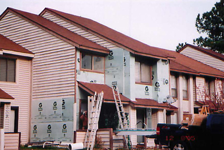 Exterior Remodeling: siding, painting, trim work.